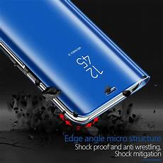 Bakeey Plating Cover by Bakeey Plating Mirror Window Shockproof Flip Cover