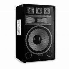 haut parleur 15 pouces skytec 1200w speakers pro set beginner system club 15 quot woofer cone ebay