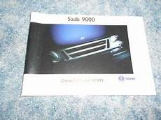 service and repair manuals 1993 saab 9000 seat position control 1993 saab 9000 owners manual factory oem ebay