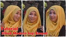 Cara Memakai Jilbab Segi Empat Modern By Revi