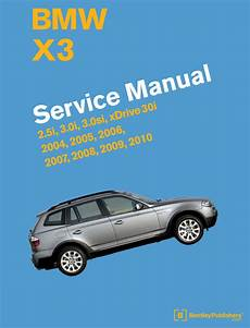 auto repair manual free download 2007 bmw 7 series security system front cover bmw x3 e83 2004 2010 repair information bentley publishers repair manuals
