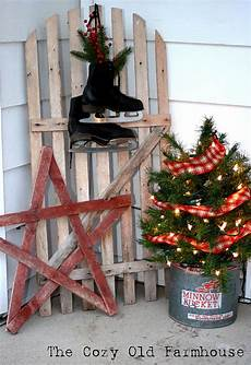 Wood Decorations Outdoor by The Cozy Quot Farmhouse Quot A Of My Rustic