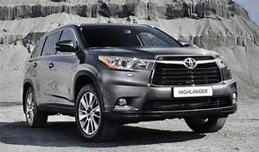 2019 Toyota Highlander Redesign Release Date Specs And