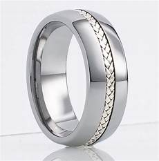 mens tungsten ring wedding band 8mm size 16