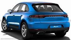 Dimensioni Porsche Macan 2019 Bagagliaio E Interni