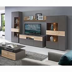 wohnzimmer wohnwand wohnwand como anbauwand wohnzimmer uni wolfram grau und