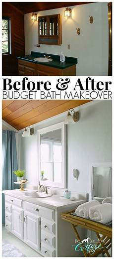 how to makeover a bathroom without remodeling diy home improvement bloggers best ba 241 os