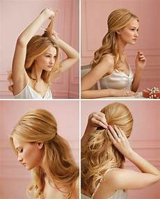 schone frisuren fur lange haare zum selber machen