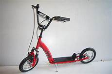 12 inch wheel front suspension push scooter with brakes ebay