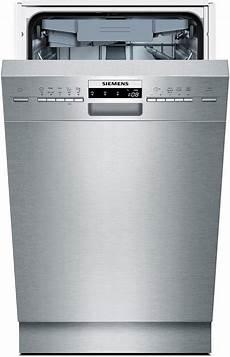 spülmaschine unterbau 45 cm siemens unterbau geschirrsp 252 ler sr45m586eu energieklasse