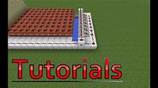 Minecraft Tutorial Semi Automatic Tnt Cannon