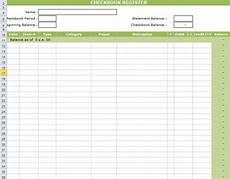 checkbook register template in excel