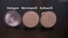 3w Led Versus 20w Halogen Der Test Gu10 Spot Strahler