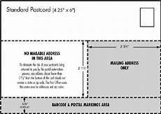 usps postcard design guidelines design projects preparing postcard promotions