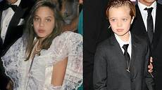 at eight shiloh pitt wears a suit better than
