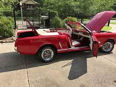 1965 Mustang GT Convertible Pony SELLING AT NO RESERVE