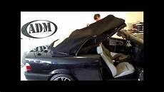 original bmw e36 cabrio verdeck montage
