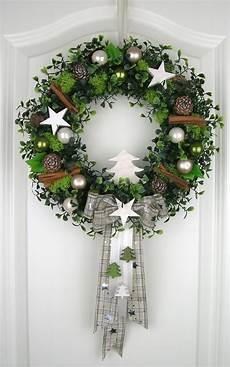 Türkranz Weihnachten Modern - weihnachtskranz wei 223 t 252 rkranz wei 223 winterkranz deko kranz