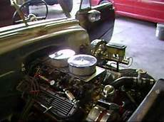 how does a cars engine work 1998 chevrolet sound chevrolet 350 v8 engine chevy bell air 1952 youtube