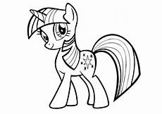 my pony unicorn colouring image