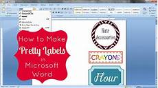 how to make pretty labels in microsoft word free printable how to make labels words good