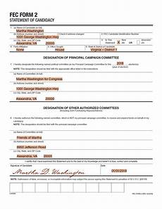 registering a candidate