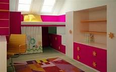 kinderzimmer mit dachschräge kinderzimmer mit hochbett einrichten f 252 r eine optimale raumgestaltung
