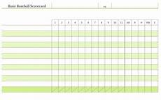 baseball scoring sheet scoring sheet baseball