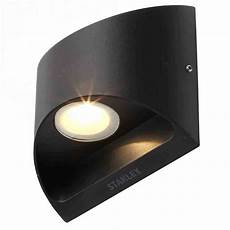 stanley ticino ip54 led up down wall light black litecraft