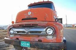 1956 FORD COE F600 Cab Over Rat Rod
