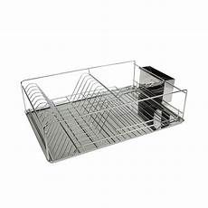 Bakeey Dish Drying Rack Stainless Steel by Home Basics Stainless Steel Dish Rack Tray In Chrome