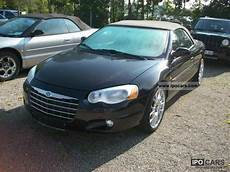 2005 chrysler sebring convertible 7 2 limited car photo
