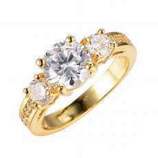 white sapphire wedding band ring size 6 7 8 9 10 womens yellow gold filled rings ebay