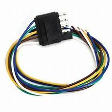 flat wire harness pin 5 pin flat trailer wire harness extension connector 25inch ebay