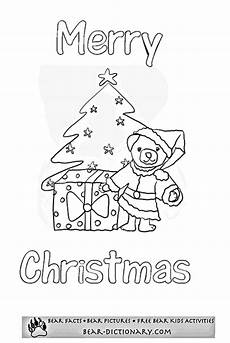 merry bears coloring sheet toby s