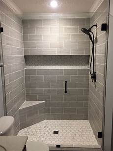 tiled bathrooms ideas showers our finished walk in shower walls florim usa 6x24 cut