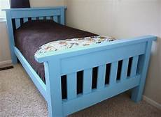 white build the simple bed diy projects