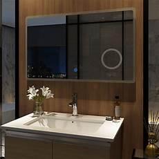 badspiegel beleuchtung led badspiegel 100x60cm mit beleuchtung kosmetikspiegel