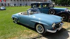 1961 mercedes 190 sl exterior and interior