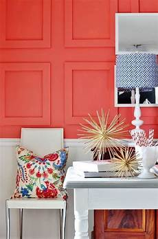 room reveal sherwin williams color of the year coral walls best interior paint color of the