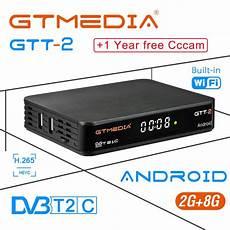 Gtmedia Amlogic S905d 16gb Wifi Android by Gtmedia Gtt2 Dvb T2 C Amlogic S905d Ddr3 2gb 8gb 1080p