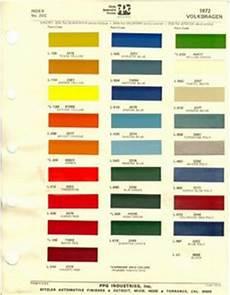 vw original paint color chart cars i love pinterest volkswagen paint colors and colors