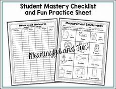 measurement benchmarks worksheets measurement benchmarks worksheets by shelly rees tpt
