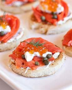 caviar smoked salmon canapes tatyanas everyday food