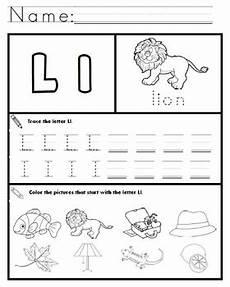 printable worksheets for letter l 24565 letter l worksheets by kindergarten swag teachers pay teachers