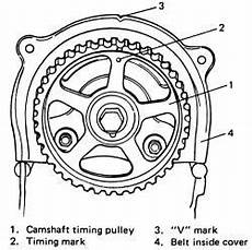 solved i need a diagram of engine timing marks for a 1 6 fixya