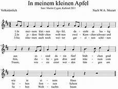 Malvorlagen Jahreszeiten Kostenlos Mp3 Kostenlos Noten Und Musik In Meinem Kleinen Apfel