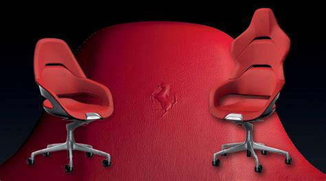 Poltrona Frau Ferrari : The Poltrona Frau Cockpit Office Chair Was Designed By Ferrari