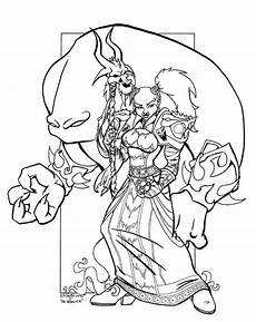 Malvorlagen Wow World Of Warcraft Orc Coloring Pages Malvorlagen