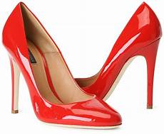 Rote High Heels - it s drastic you stay away from plastic espinosa